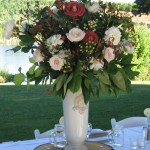 flowersbydiana.com Reception bouquet with Leonida, Vendella roses